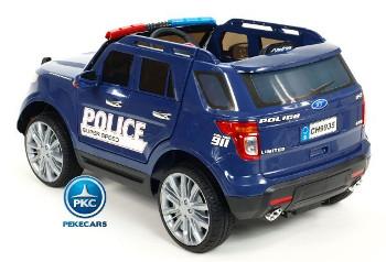 Coche eléctrico de Policía para Niños