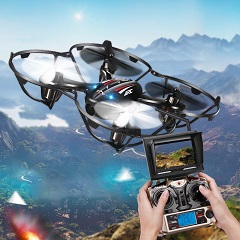 Drones con Cámara y Pantalla