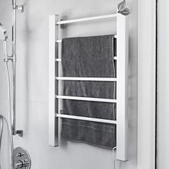 ENKI radiador toallero para ba/ño 660 660mm cl/ásico pared negro BALLERINA