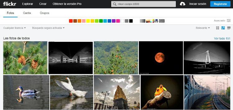 Fotos tomadas con Nikon Coolpix B500