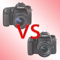 Canon EOS 80D vs Canon EOS 77D