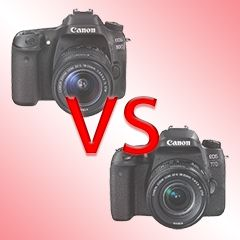 Canon 80D vs 77D