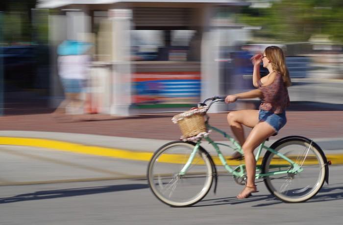 Cómo hacer Fotos en Movimiento - En Bicicleta