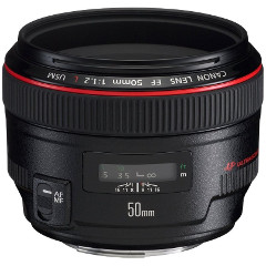 7 Objetivos 50mm para Canon