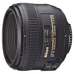6 Objetivos 50mm para Nikon