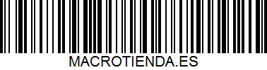código de barras de Macrotienda