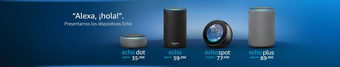 Comprar Amazon Echo Online