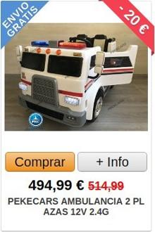 Comprar Ambulancia Eléctrica para Niños