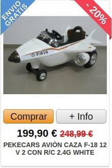 Comprar Avión Eléctrico para Niños