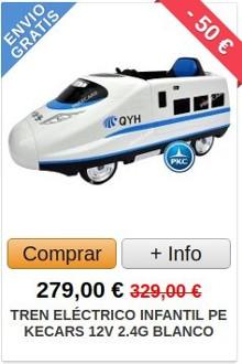 Comprar Tren Eléctrico para Niños