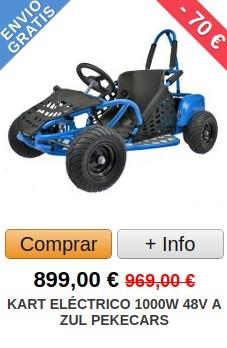 Comprar Kart Eléctrico 1000W