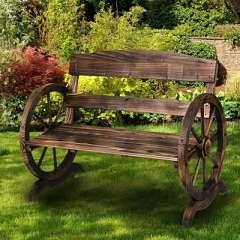 los mejores bancos de madera rústicos