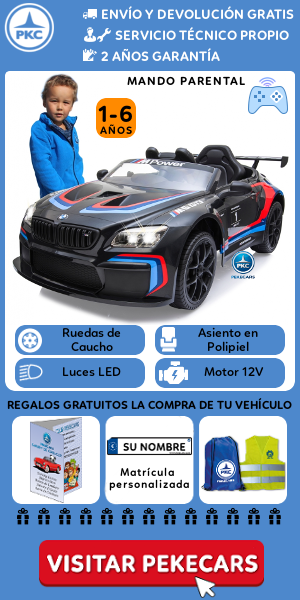 Comprar un coche eléctrico para niños en Pekecars